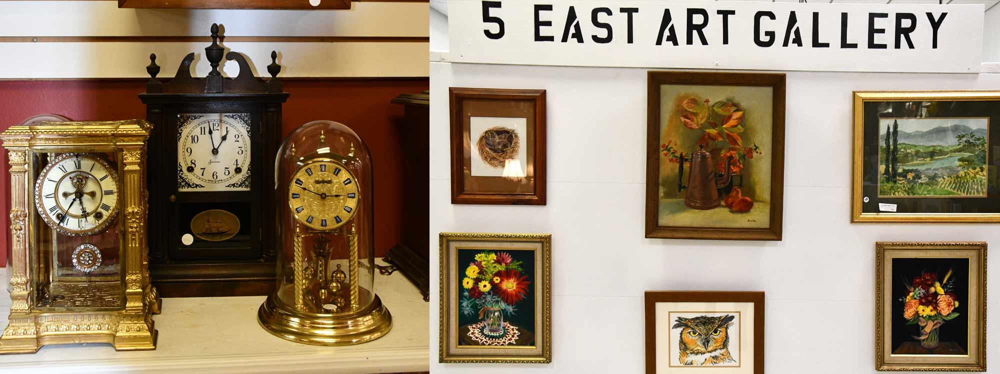 Clock Repair, Art Gallery