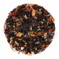 A mountain grown black tea with the warm comforting flavor of cinnamon and apple.