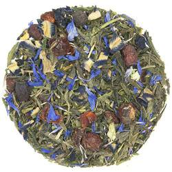Light rose with astringent cherry notes. Natural white tea character abounds.