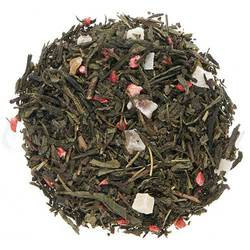 Flavory, summer sweet strawberry and papaya pieces round out an exceptionally smooth green tea.