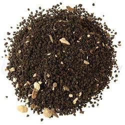 ull bodied tea enhances South Indian masala spices. The finish has cardamom notes peeking out from lively ginger. Superb with milk and sugar.
