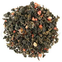 A synergy of British strawberries at their best with seasonal floral Ti Kuan Yin Oolong - simply a superb strawberry cup!