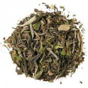 *White Tea – One of the highest grades of white tea, Pai Mu Tan is naturally withered for an excellent clear cup with fresh aroma, velvety flavor and delicate jammy notes of Keemun or Bordeaux.  Try it with Lavender!